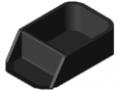 Vaschetta ad incastro 160x80 antistatica, nero