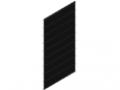 Griglia a filo doppio 50x200, 1830x958, nero