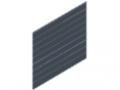Griglia a filo doppio 25x200, 1830x2008, zincato
