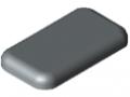 Calotta 8 32x18, grigio simile a RAL 7042