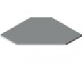 Piani per tavoli TRIGO 30-750 ESD HPL, grigio simile a RAL 7035