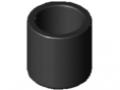 Calotta finale per tubolare D30 ESD, nero