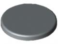 Calotta di copertura per tubolare profilato D30 pesante, grigio