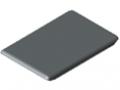 Calotta per squadra automatica 8 40x40, grigio simile a RAL 7042