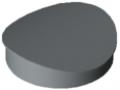 Calotta D30 R15, grigio simile a RAL 7042