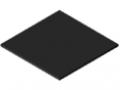 Polietilene ad altissimo peso molecolare 4 mm, nero simile a RAL 9005