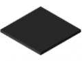 Polietilene ad altissimo peso molecolare 8 mm ESD, nero simile a RAL 9005